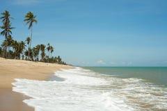 蓝色沙子海运通知 库存照片