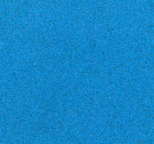 蓝色沙纸 免版税库存图片