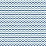 蓝色河挥动无缝V形臂章的样式 免版税库存照片