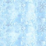 蓝色油漆水彩无缝的水彩纹理样式 库存图片