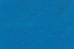 蓝色油漆混凝土 库存图片