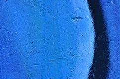 蓝色油漆背景 免版税库存图片