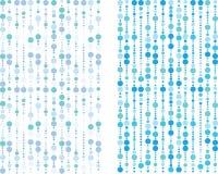 蓝色泡影模式 免版税库存图片