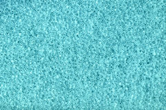 蓝色泡沫背景 免版税图库摄影