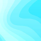 蓝色波浪传染媒介背景 库存图片