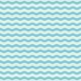 蓝色波浪无缝的样式 向量例证EPS10 皇族释放例证