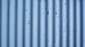 蓝色波纹状的板料 免版税库存图片