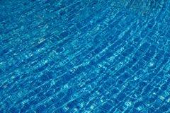 蓝色波纹 免版税库存图片