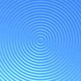 蓝色波纹水 库存图片