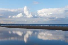 蓝色波罗的海 库存图片