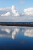 蓝色波罗的海 库存照片