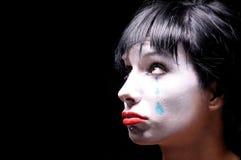蓝色泪花 图库摄影