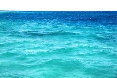 蓝色海宏指令的照片挥动 库存照片