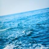 蓝色海浪 免版税库存图片