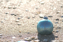 蓝色海滨 图库摄影