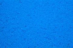 蓝色海绵纹理背景 库存照片