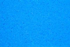 蓝色海绵纹理背景 库存图片