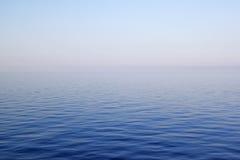 蓝色海运 免版税图库摄影