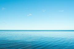 蓝色海运 库存照片