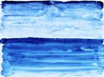 蓝色海洋。 库存图片