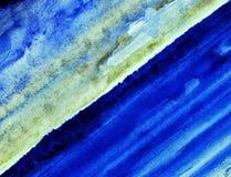 蓝色海洋。 免版税图库摄影
