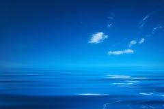 蓝色海洋 图库摄影