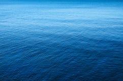 蓝色海 免版税库存照片