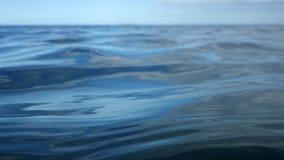 蓝色海水 免版税库存照片