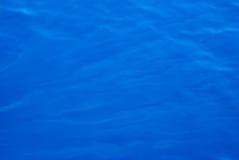 蓝色深海纹理通知 免版税图库摄影