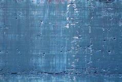 蓝色混凝土 免版税库存照片