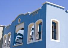 蓝色清楚的埃及旅馆好天空夏天VA 免版税库存照片