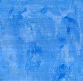 蓝色清洗和背景与有趣的波浪油漆textur 免版税图库摄影