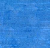 蓝色清洗和背景与有趣的波浪油漆textur 库存图片