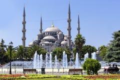 蓝色清真寺伊斯坦布尔土耳其 库存图片