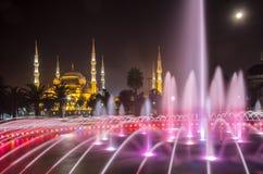 蓝色清真寺伊斯坦布尔 免版税图库摄影