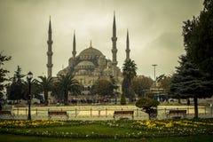 蓝色清真寺伊斯坦布尔 库存照片