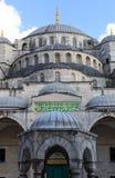 蓝色清真寺圆顶 图库摄影