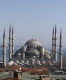 蓝色清真寺在伊斯坦布尔 免版税库存图片