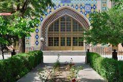 蓝色清真寺在耶烈万,亚美尼亚 免版税库存图片