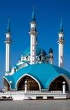 蓝色清真寺天空 库存图片