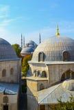 蓝色清真寺暗中侦察 免版税库存照片