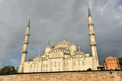 蓝色清真寺,伊斯坦布尔 库存图片