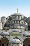 蓝色清真寺,旅行目的地,伊斯坦布尔土耳其 免版税库存照片