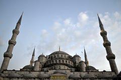 蓝色清真寺, Sultanahmet Camii,伊斯坦布尔 免版税库存照片