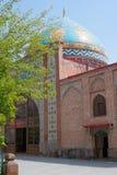 蓝色清真寺 库存照片