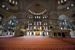蓝色清真寺 图库摄影