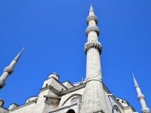 蓝色清真寺 免版税图库摄影