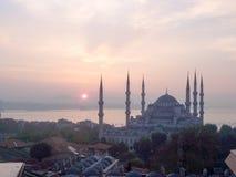 蓝色清真寺sultanahmet 库存图片