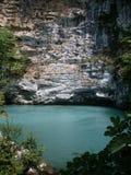 蓝色湖,阿布哈兹 免版税库存照片