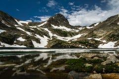 蓝色湖-科罗拉多 免版税库存图片